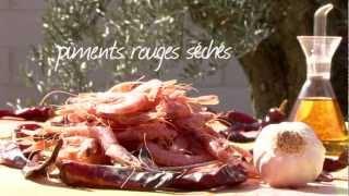Crevettes à l'ail à l'espagnole