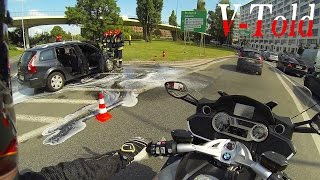 10. A terrible day for this driver - onboard BMW K 1600 GTL
