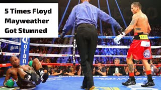 Download Lagu 5 Times Floyd Mayweather Got Stunned Mp3