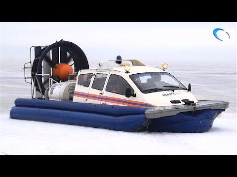 На озере Ильмень ищут рыбака, пропавшего накануне
