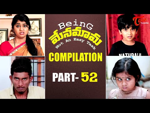 Best of Being Menamama | Telugu Comedy Web Series | Highlight Scenes Vol #52 | Ram Patas | TeluguOne