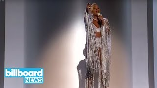 Mary J. Blige Performs 'Set Me Free', 'Love Yourself' With A$AP Rocky at BET Awards | Billboard News