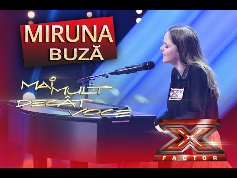lie - Miruna Buză convinge juriul că merită să se califice în următoarea etapă X Factor. Canalul oficial de youtube X Factor: http://www.youtube.com/thexfactora1 Site-ul show-ului X Factor:...