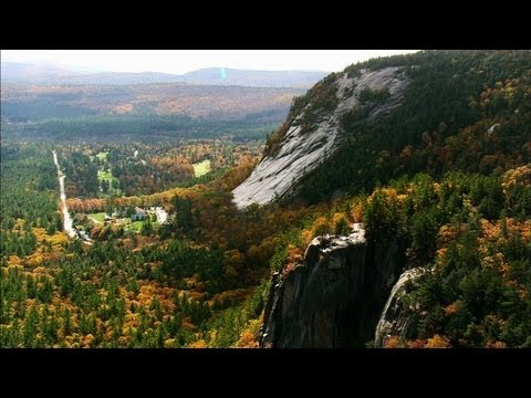 new hampshire - Whether on foot, by raft or from a car, no experience of the White Mountain National Forest beats the view from above.