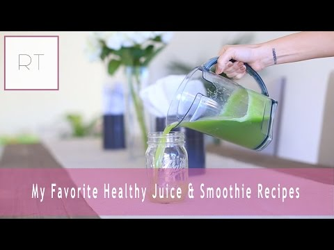 Favorite - Wanna Learn MORE about juicing, cleansing, and making fresh healthy smoothies? -http://racheltalbott.com/juices-and-smoothies/ -http://rawkinjuice.com ♥What I Use: -VitaMix http://bit.ly/...