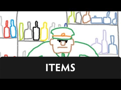 items - A guide to item in our series 
