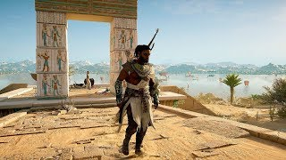 Assassin's Creed Origins - Protector of Egypt Stealth & High Action Combat