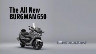 9. 2013 SUZUKI BURGMAN 650/Executive Technical Overview