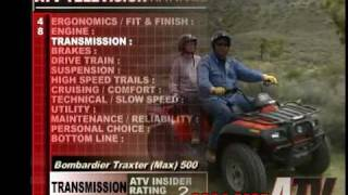 6. ATV Television QuickTest - 2004 Can Am Traxter Max 500 XT 4x4