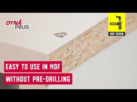 Dynaplus MDF screw