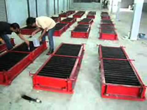 โครงการออกแบบและสร้างโรงงานผลิตอิฐมวลเบาระบบ CLC