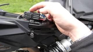 9. Aprilia Shiver fuel pump connector fail