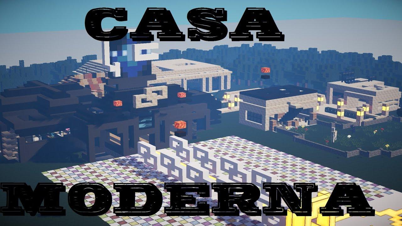 Minecraft – Casa Moderna Enorme / Gigante ! Descargar 1.7.2-1.8.X / 2015
