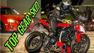 7. ducati streetfighter dash view at drags 10.090 138mph
