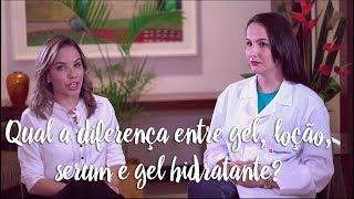 Clinic Farma - Qual a diferença entre gel, loção, serum e gel hidratante?