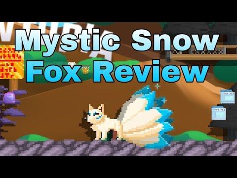 Growtopia Mystic Snow Fox Review December IOTM 2020