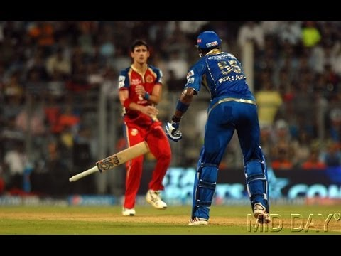Video Pollard vs Starc Fight Crossed The Line - Shane Watson download in MP3, 3GP, MP4, WEBM, AVI, FLV January 2017