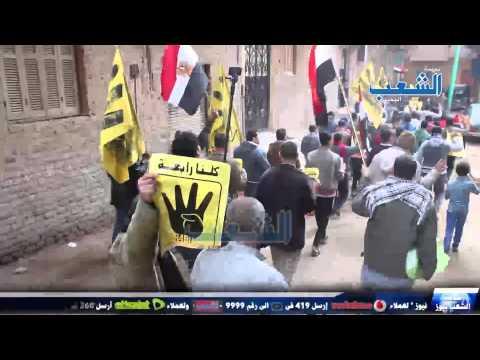 مسيرة رافضة للإنقلاب تهز قرية أوسيم بالجيزة