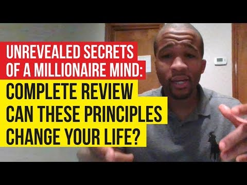 Unrevealed Secrets of a Millionaire Mind by Wesley Virgin: Review - HOW DOES IT WORK?