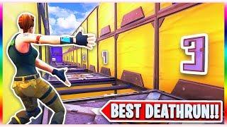 The BEST Super Easy DEFAULT Deathrun! (Fortnite Creative Mode)