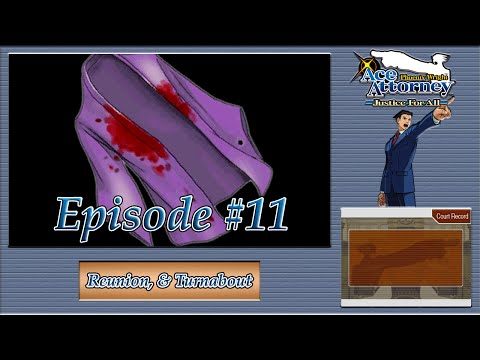 Phoenix Wright: Justice For All - Mystic Uniform Mayhem - Episode 11