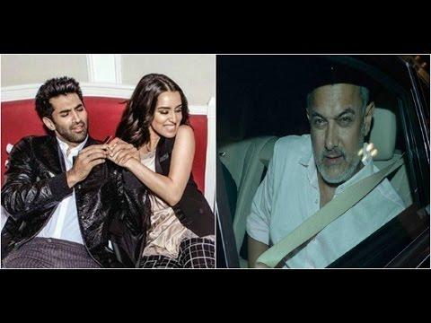 Aditya & Shraddha Enjoyed A Movie Date | Aamir's P