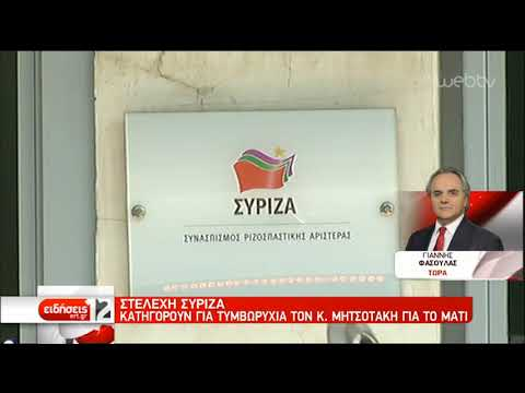 ΣΥΡΙΖΑ κατά Μητσοτάκη για τη συμφωνία των Πρεσπών | 25/09/2019 | ΕΡΤ