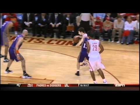 [4.13.12] Marcus Camby - Tough Circus Shot vs Suns