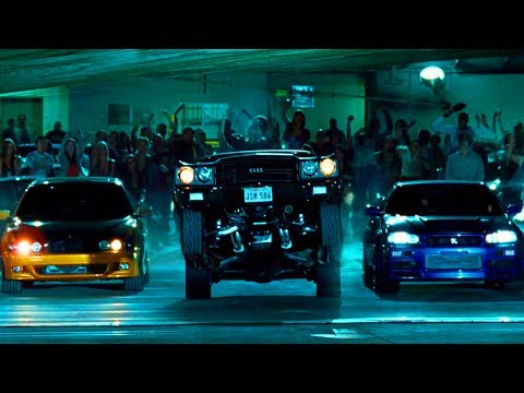 FAST and FURIOUS 4 - Audition Race (Chevelle vs GT-R vs M5 vs Silvia) #1080HD
