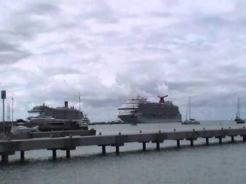 VIDEO: CARIBBEAN DREAM CARNIVAL STRANDED IN PARADISE ST MAARTEN judith roumou