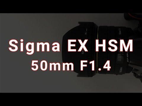 Sigma EX HSM 50mm F1.4 - Lens Review