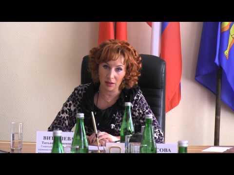 30 октября 2014 года - Визит в Лотошинский район Татьяны Витушевой онлайн видео
