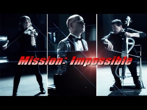 Mission Impossible (Piano/Cello/Violin) ft. Lindsey Stirling - ThePianoGuys Video