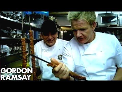 'You need practice man' - Gordon Ramsay Learns to Make Kebabs