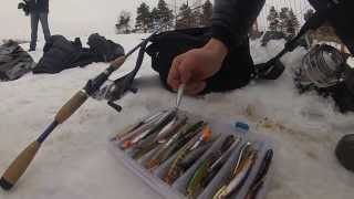Рыбалка на спиннинг зимой.