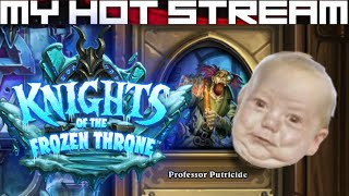 Live streams, first impressions and let's plays daily/weekly.  Hearthstone - Knights of the Frozen Throne - The Upper Reaches (Professor Putricide).  Cheap hunter deck.████████████████████████████████████████████The Professor's experiments are running amok!████████████████████████████████████████████Like CCGs?  Check out my other playlists at the end of the video.  Know a good CCG?  Post a comment and tell me about it, willing to play new CCGs on channel whenever I come across them!████████████████████████████████████████████SOCIALSTwitch: https://www.twitch.tv/myhotstreamFacebook: https://www.facebook.com/carlos.diadebueyesTwitter: https://twitter.com/CarlosDiaDeBueyPatreon: https://www.patreon.com/MyHotStream████████████████████████████████████████████