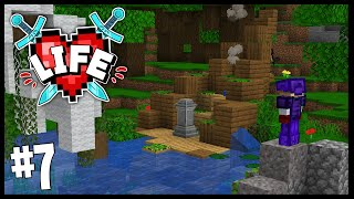 SMALLISHBEANS BUILT ME THIS!? | Minecraft X Life SMP | #7
