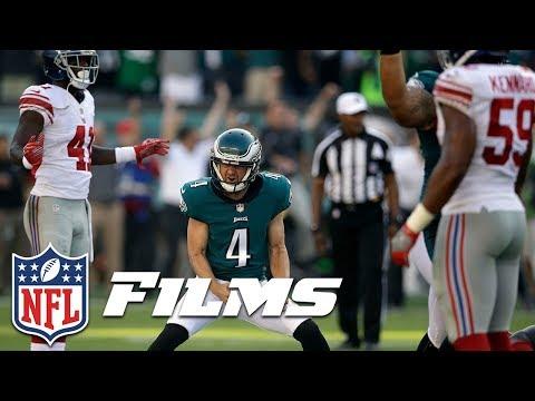 Video: Carson Wentz Manipulates Giants to Set Up Iconic Kick (Week 3) | NFL Turning Point