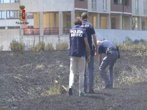 Incendio a Latina: la Polizia arresta un piromane