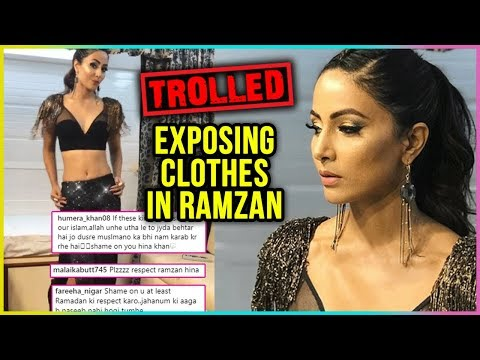 Hina Khan TROLLED For EXPOSING During Ramzan