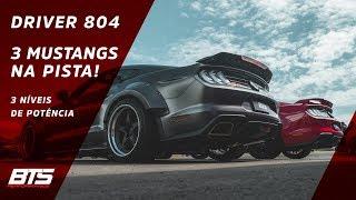 Mustang BTS 1000 do SALÃO acelerando forte na Meia Milha | Driver 804