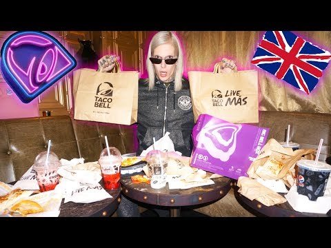 TRYING TACO BELL IN ANOTHER COUNTRY