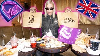 Video TRYING TACO BELL IN ANOTHER COUNTRY 🌮 DID I SURVIVE?! MP3, 3GP, MP4, WEBM, AVI, FLV Oktober 2018