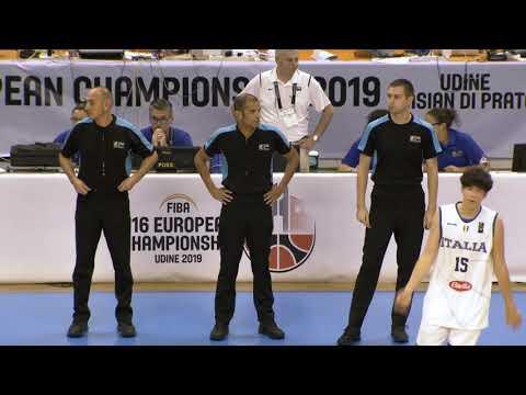 Italy vs Greece (FIBA U16 European Championship, 2018-2019)