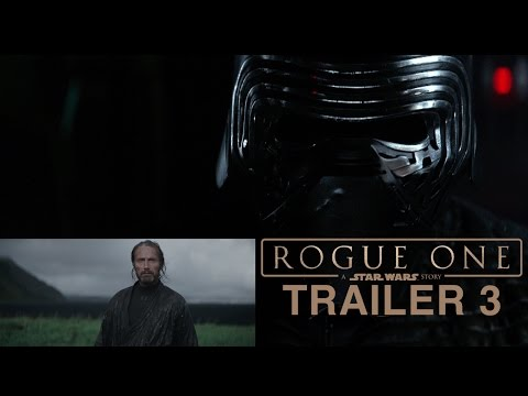 Kylo Ren Reacts to the Final Rogue One Trailer