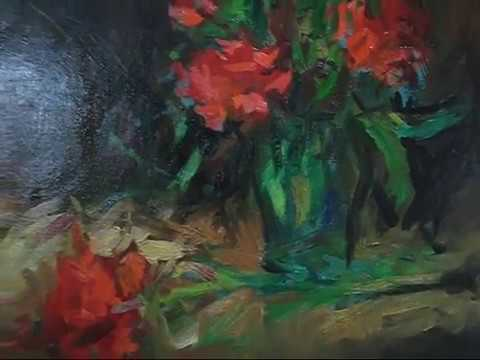 Singapore Art Galleries Li Fine Arts Oil Painting Lesson