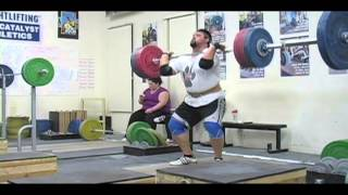 Daily Training 12-21-12 - Weightlifting training foota