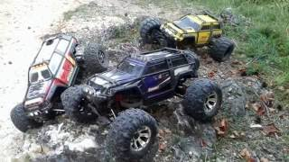 Traxxas SUMMIT on board camera in action