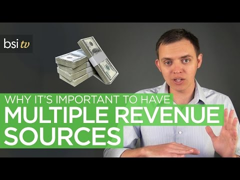 Why It's Important To Have Multiple Income Sources With Your Business