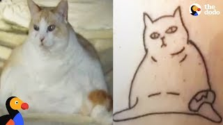 Funny Cat Drawings Inspire Cat Tattoos That Capture The True Essence of Cats | The Dodo by The Dodo